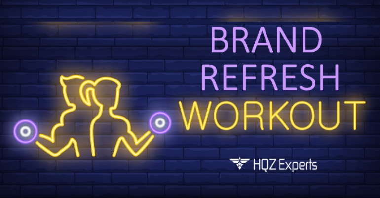 Brand Refresh Workout