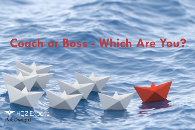 Coach or Boss - Which Are You?